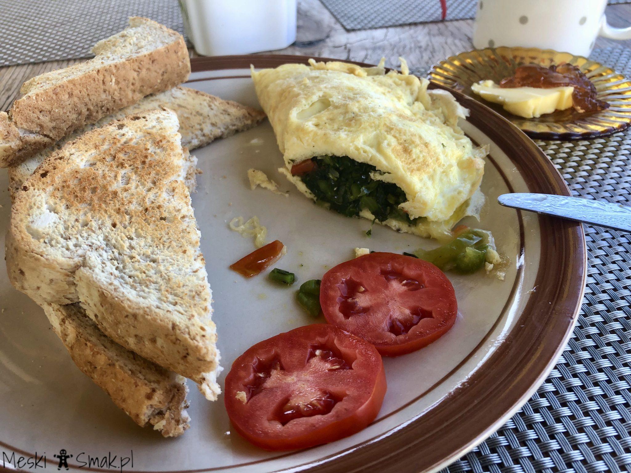 Jamaican`s breakfast