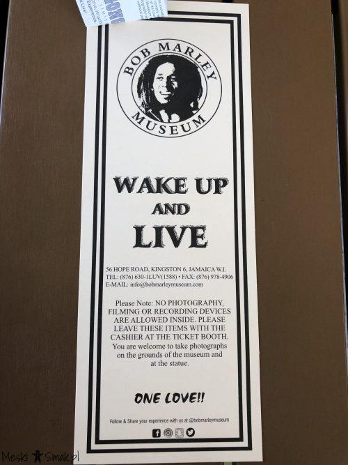 jamajka relacja_Muzeum Boba Marleya w Kingston_Męski Smak