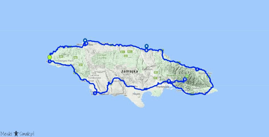 jamajka wakacje_Plan zwiedzania Jamajki_Męski Smak
