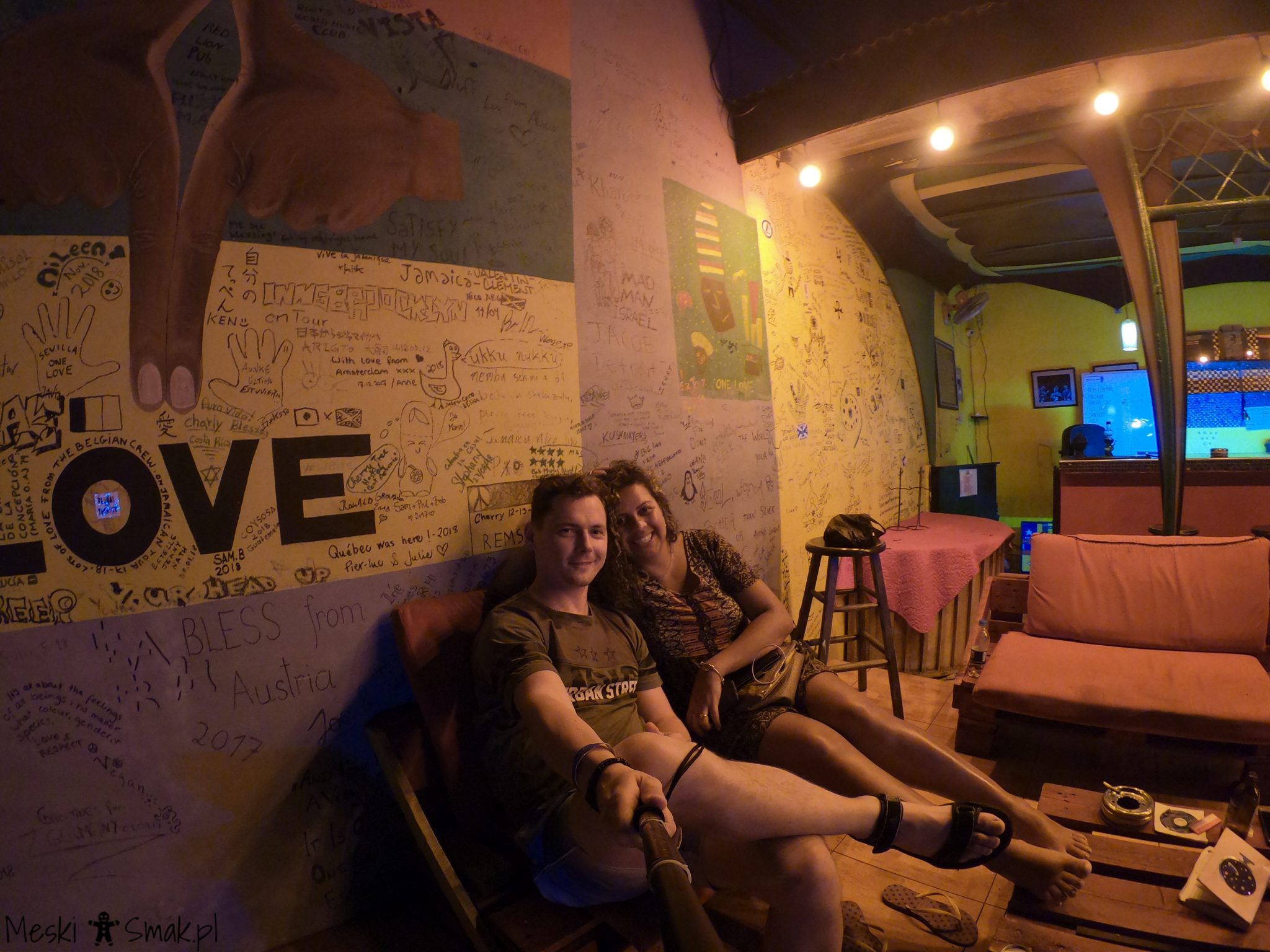 Reggae Hostel w Kingston