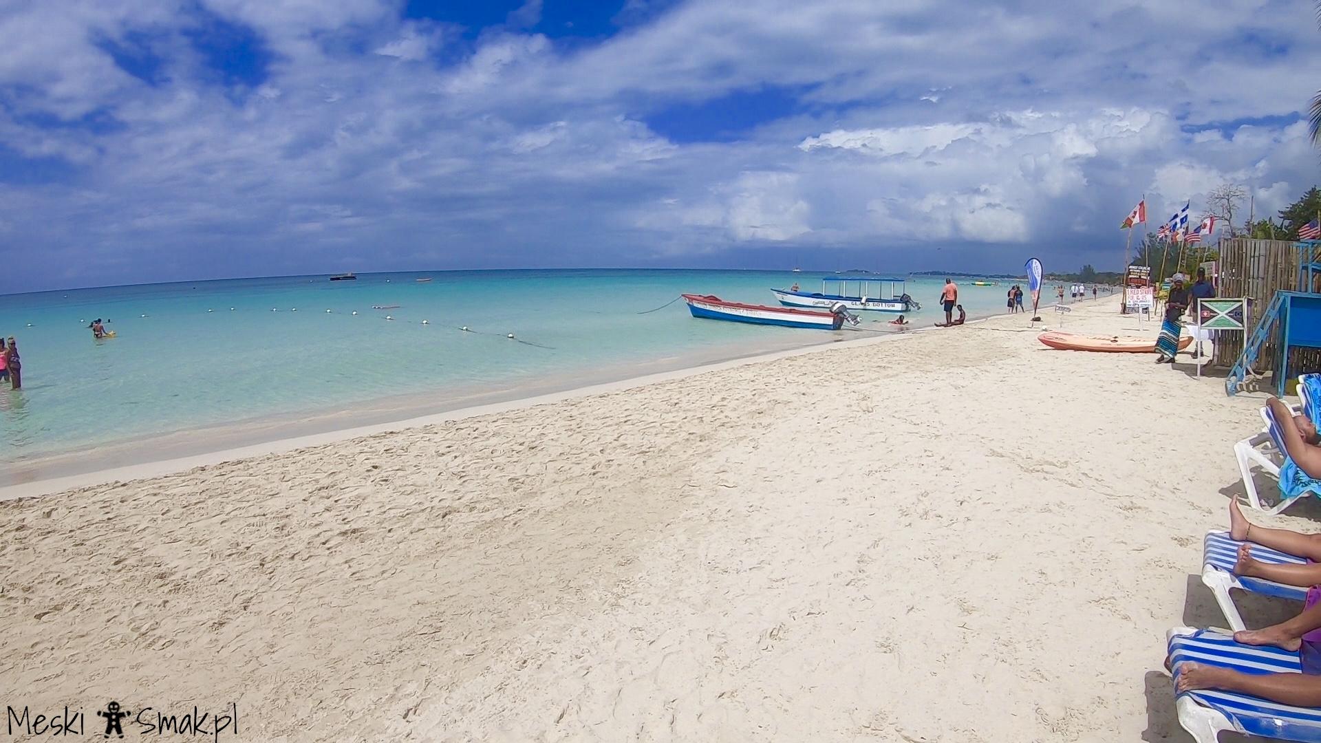 jamajka na własną rękę_Seven Mile Beach