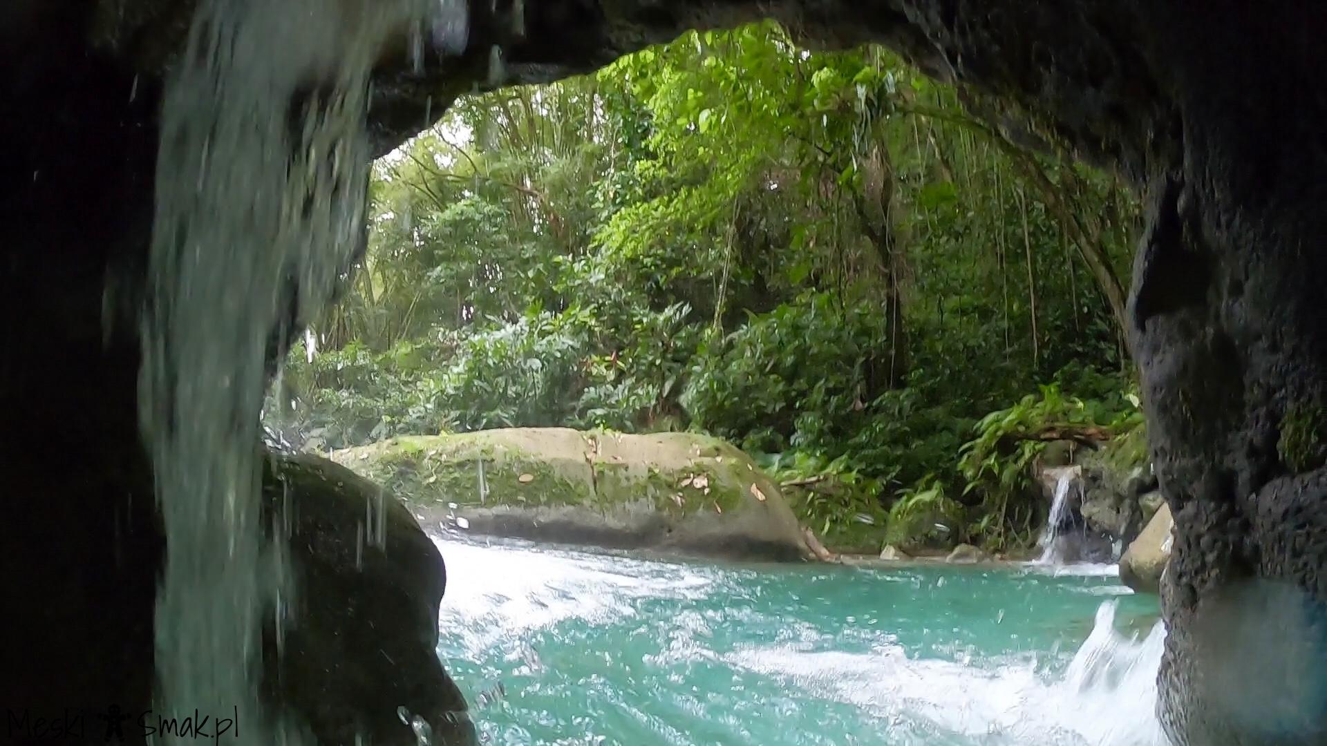 Wodospady Reach Falls 7