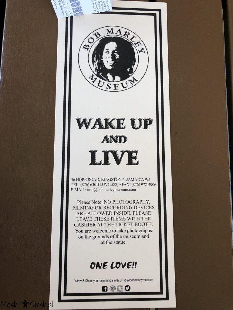 Wakacje i wycieczki Jamajka_wszystko o Muzeum Boba Marleya w Kingston 2
