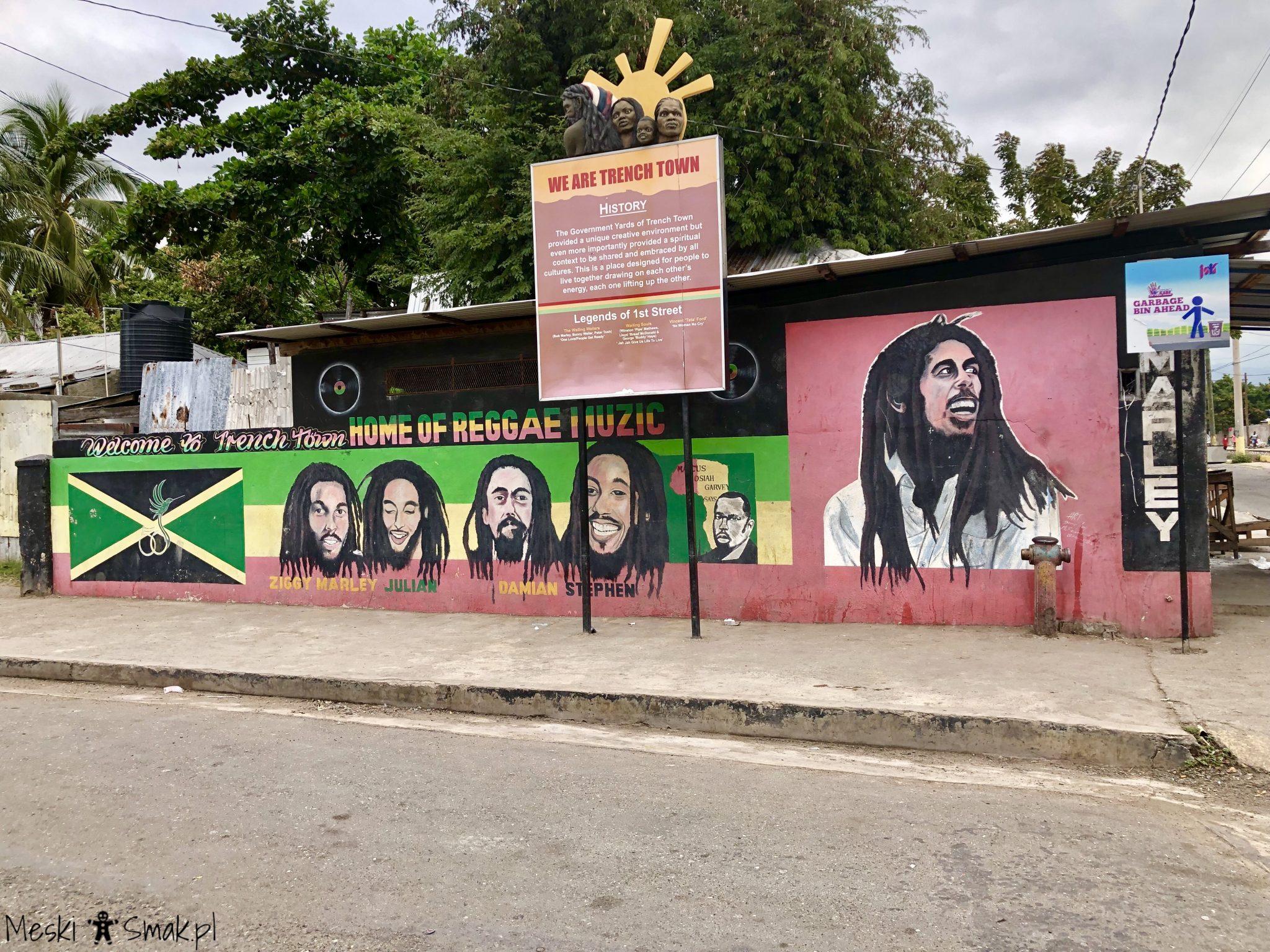 Wakacje i wycieczki Jamajka_wszystko o Trench Town Culture Yard