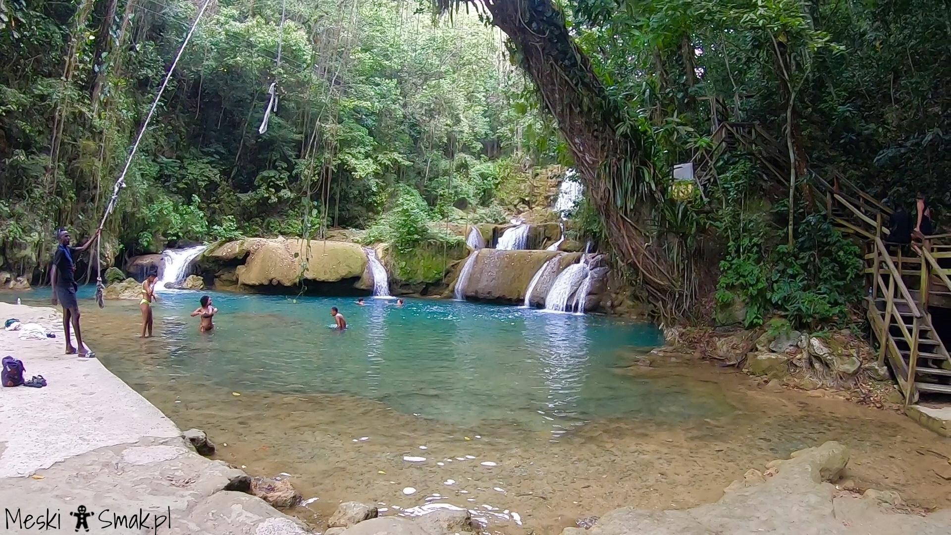 Wakacje i wycieczki Jamajka_wszystko o wodospady YS Falls 17