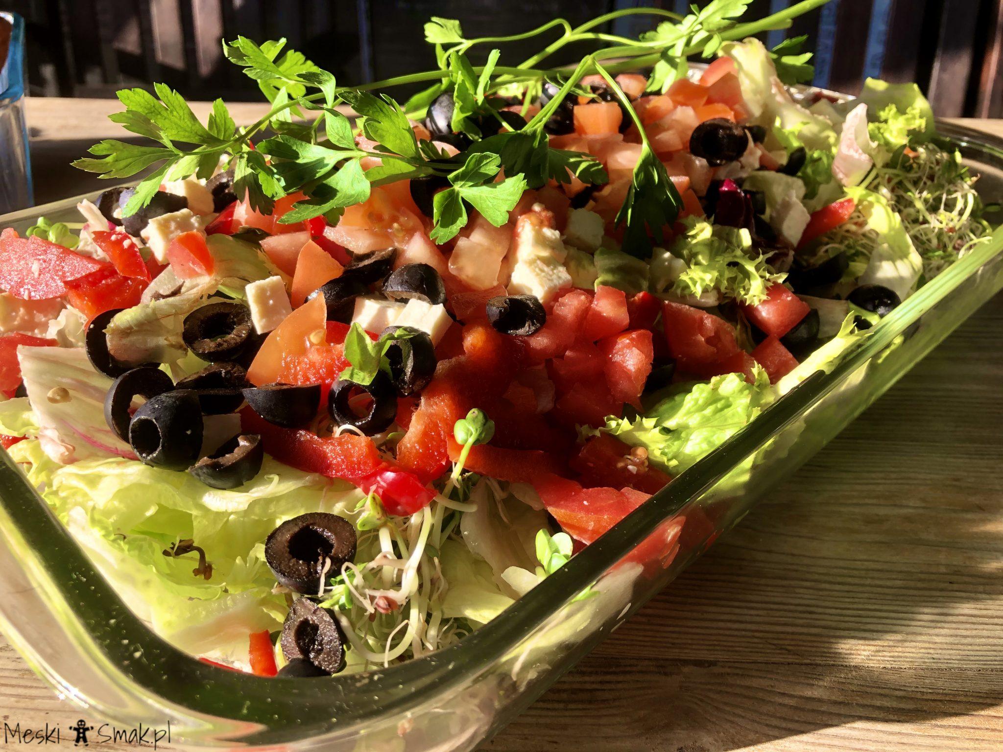Tradycyjna sałatka grecka